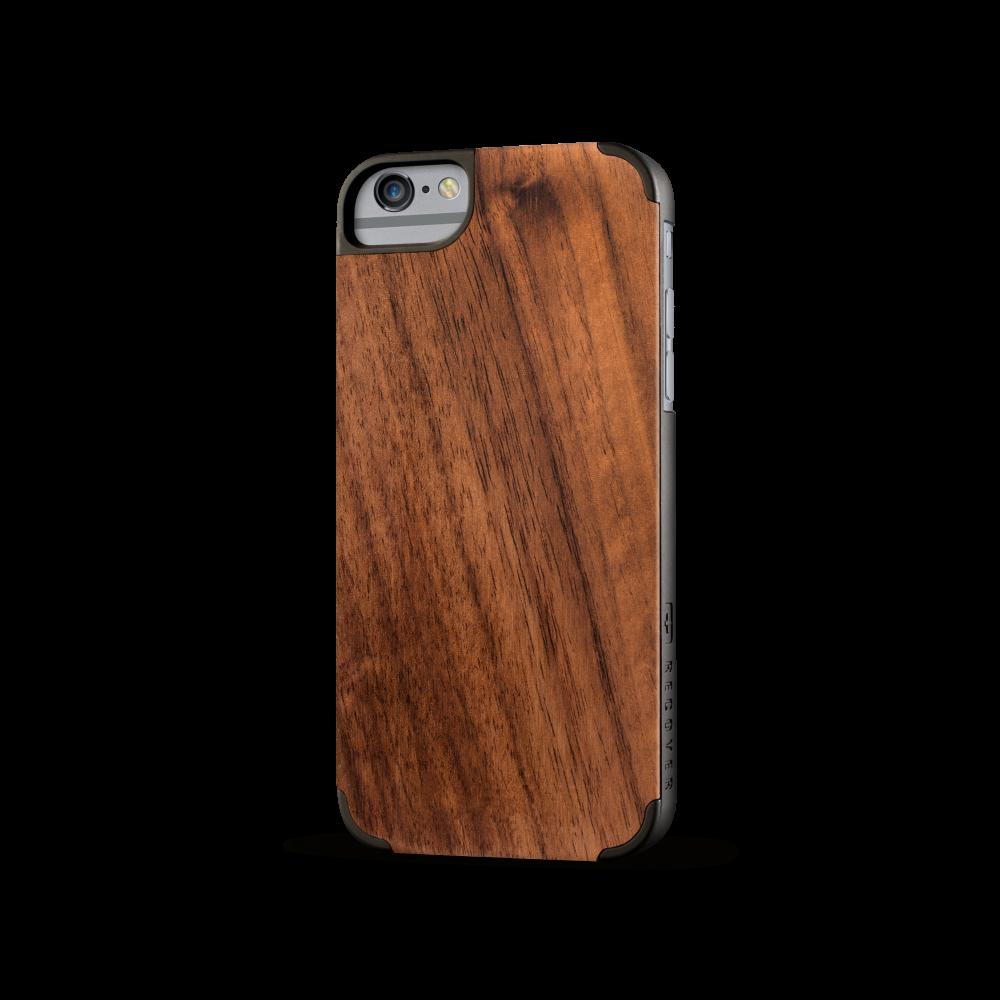 iphone case, wood iphone case, walnut wood, walnut iphone case, recover wood case