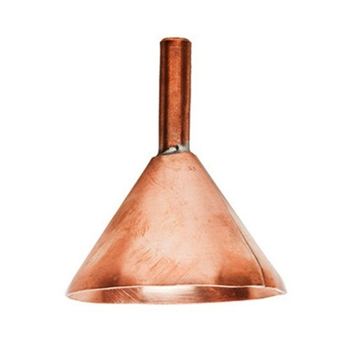 jacob bromwell, bromwell copper funnel, pure copper funnel