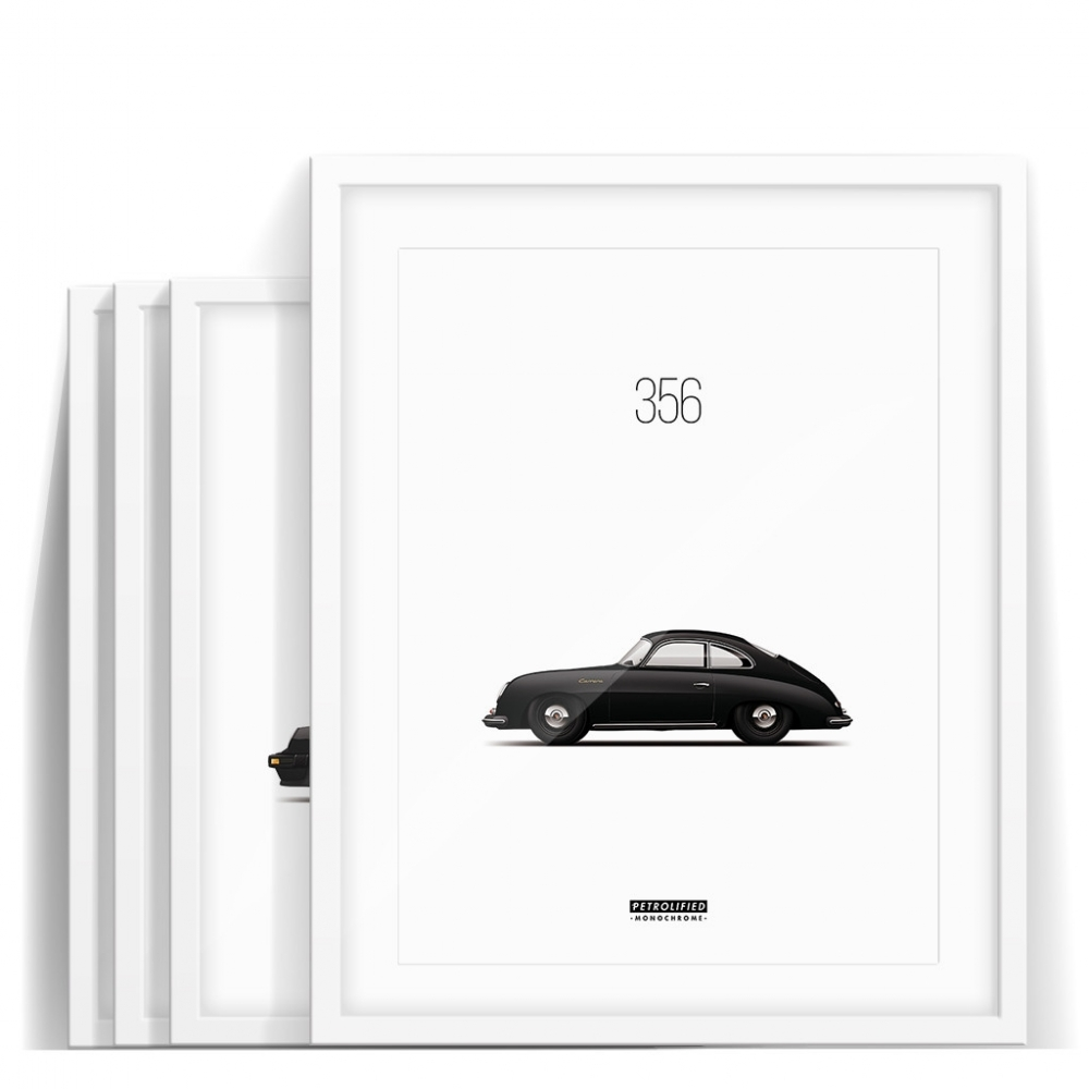 car prints, monochrome collection, luxury car art