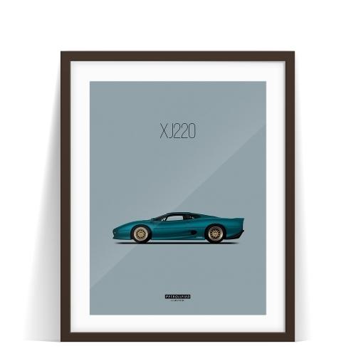 Jaguar XJ220. 1000kms. Three Days In Dreamland.