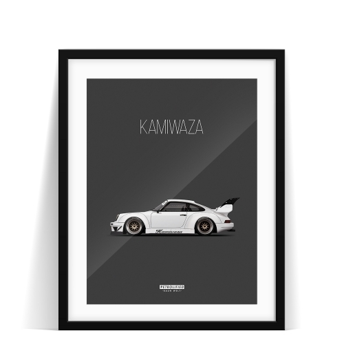 car prints, Kamiwaza, luxury car art