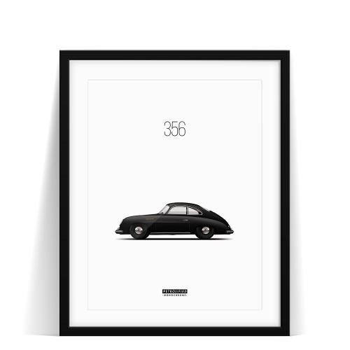 Porsche 356 Monochrome