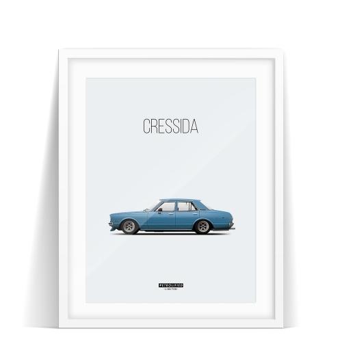 Toyota Cressida. Let's support Fredrik.