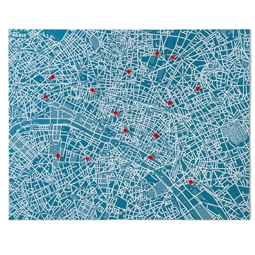 Pin City Paris - Blue