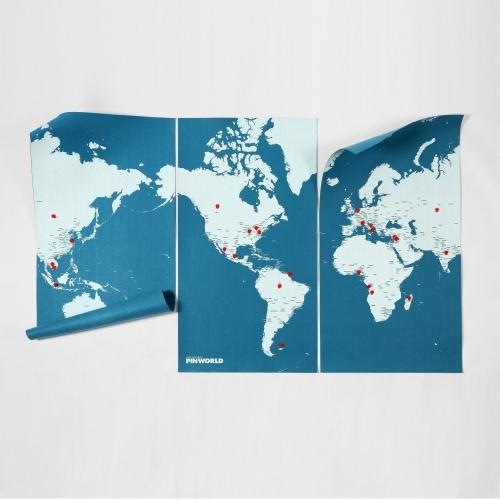 Pin World XL - Blue