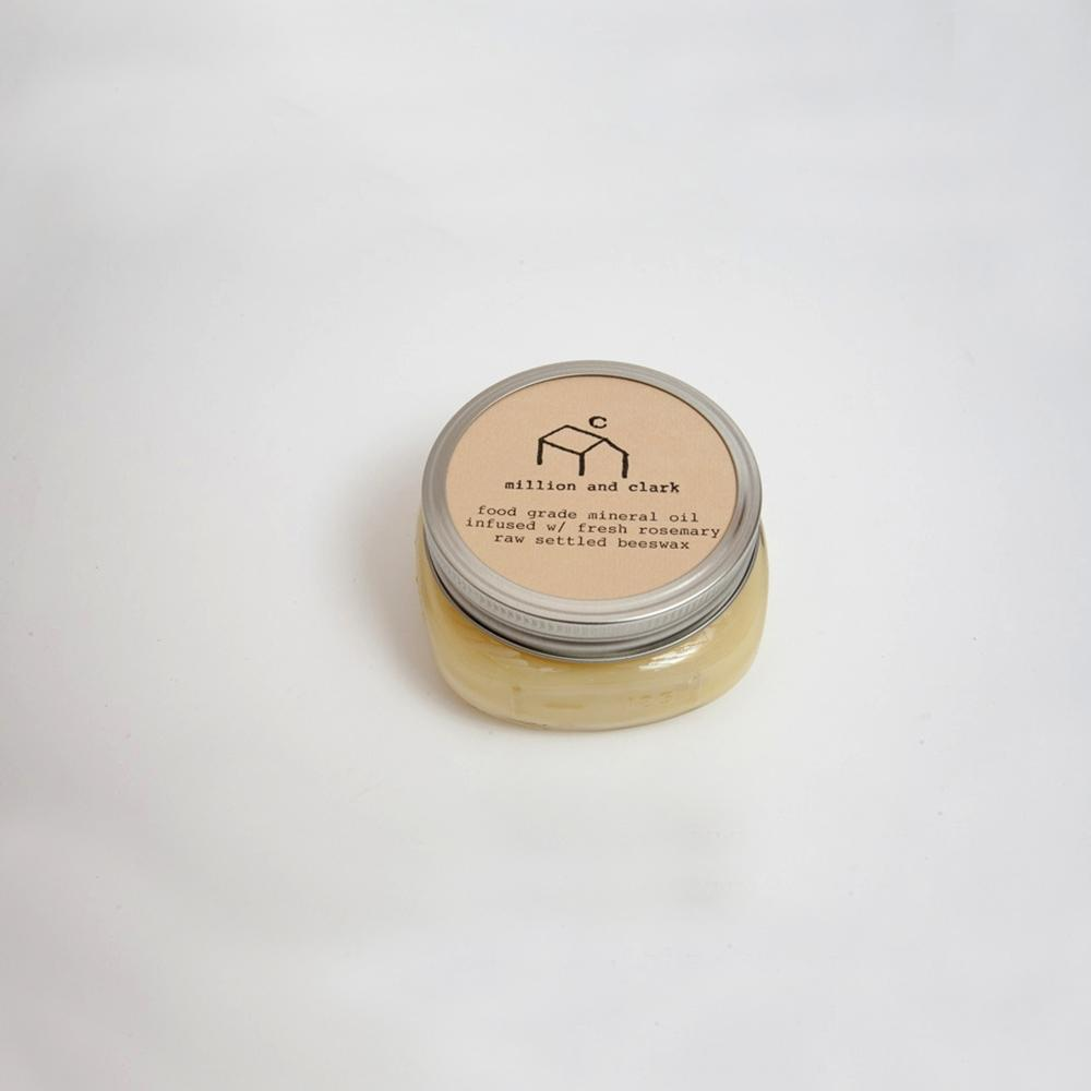 Million and Clark - Rosemary Beeswax Wood Paste