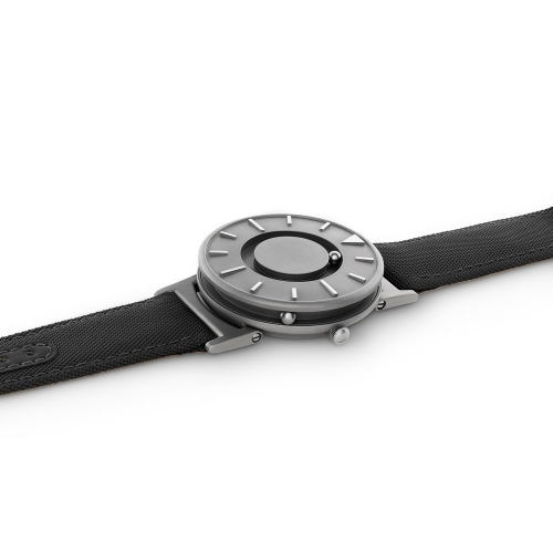 Bradley Canvas | Noir - Men's Watch - Eone