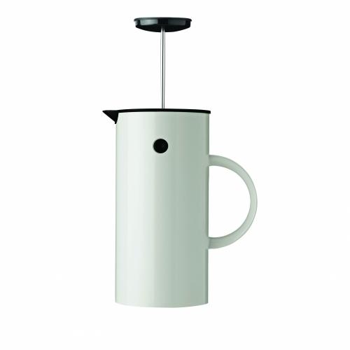 French Coffee Press, White
