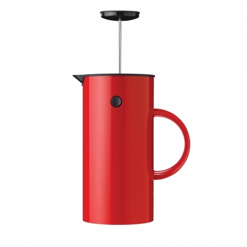 French Coffee Press, Red