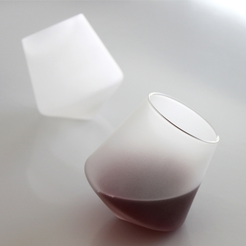 Stemless Wine Glasses | Cupa-Vino Ice Set | Sempli