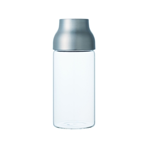 Capsule Water Carafe 1L, Stainless Steel, Kinto