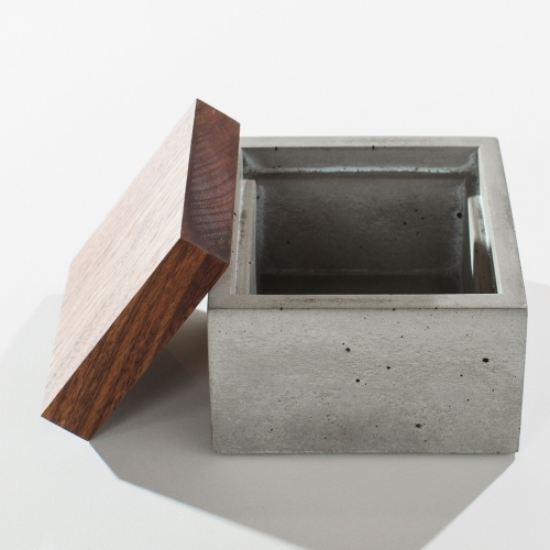 Square Box, Grey IN.SEK Design