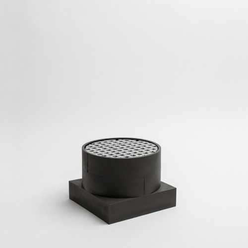Short Utility Vase   Black   Luur