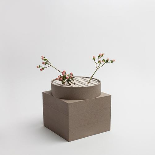 Tall Utility Vase | Brown