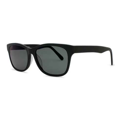 Premium Acetate Sunglasses   Windemere Matte Black   Parkman