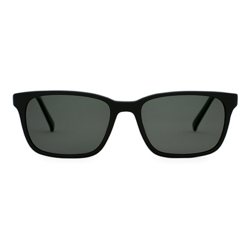 Matte Black Sunglasses | Francesa Matte Black | Parkman