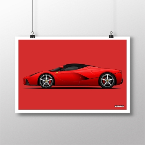 Ferrari La Ferrari Print