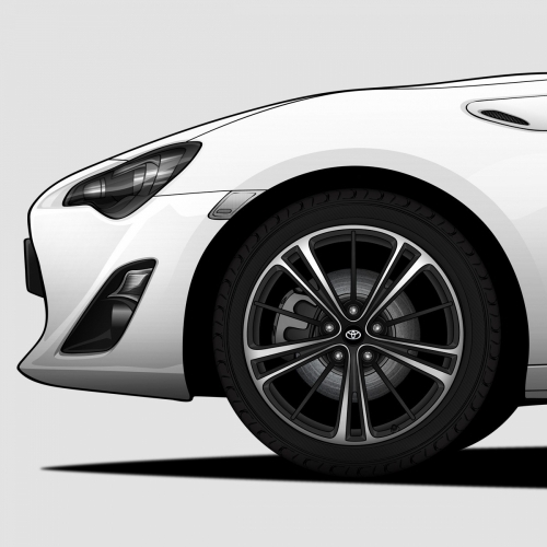 Toyota 86/GT86 Print, Unrivaled