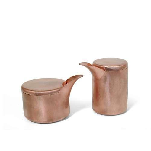 Copper Creamer Container, Smith Shop Detroit