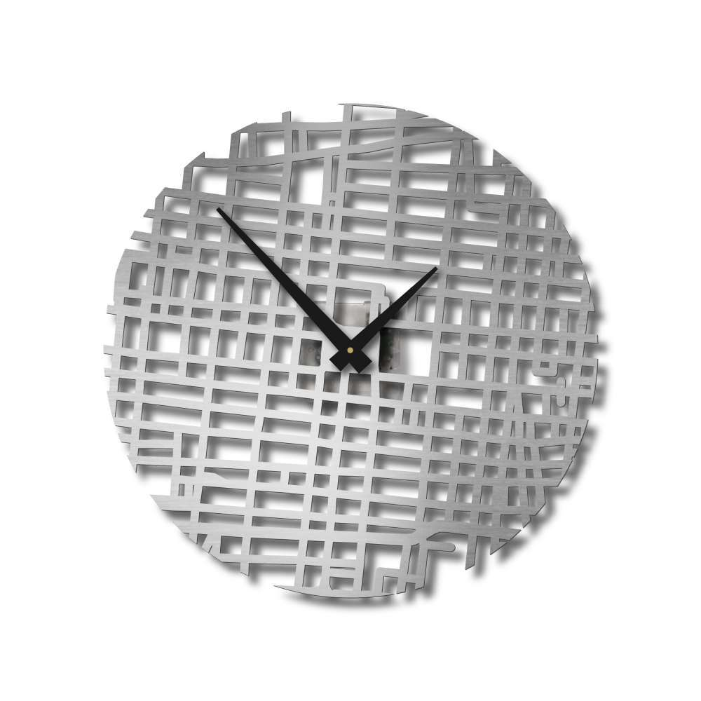 Design Map Wall Clocks | Mexico City Clock | Urban Story