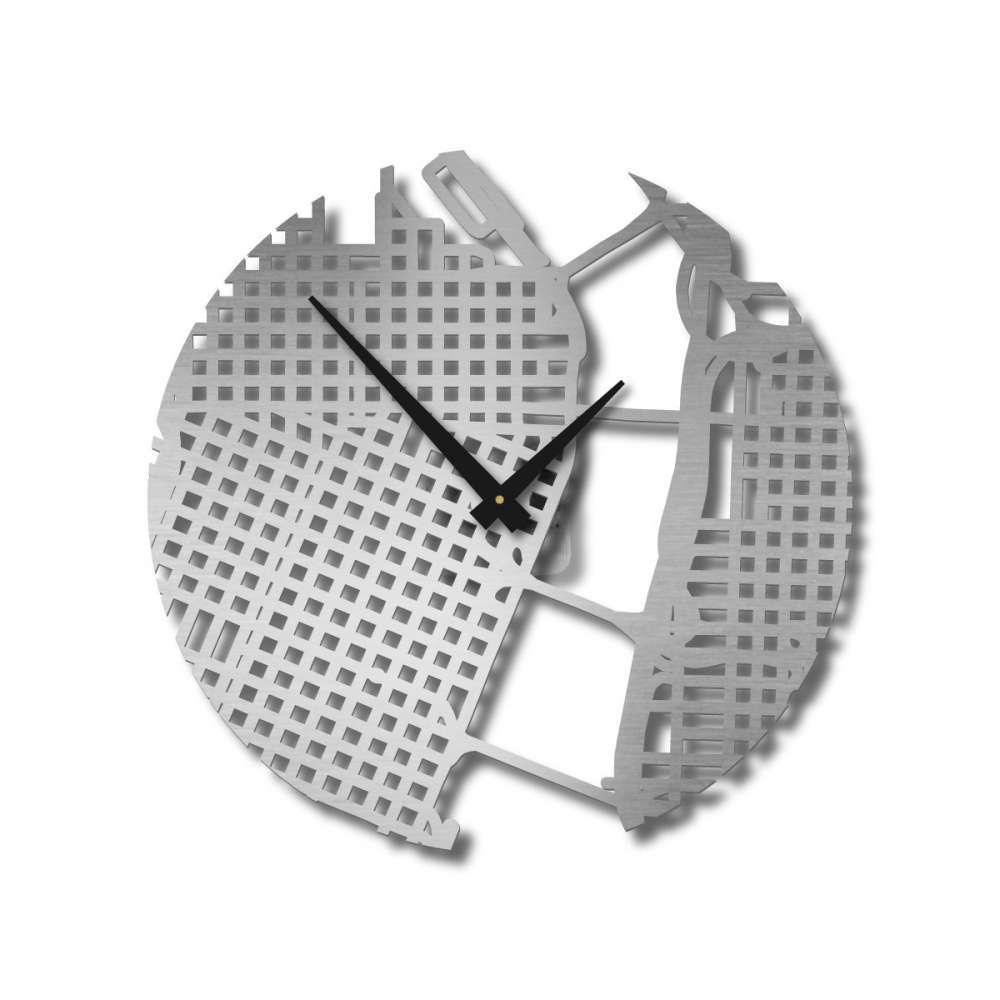 Wall Clocks | Portland Clock | Map Clocks | Urban Story