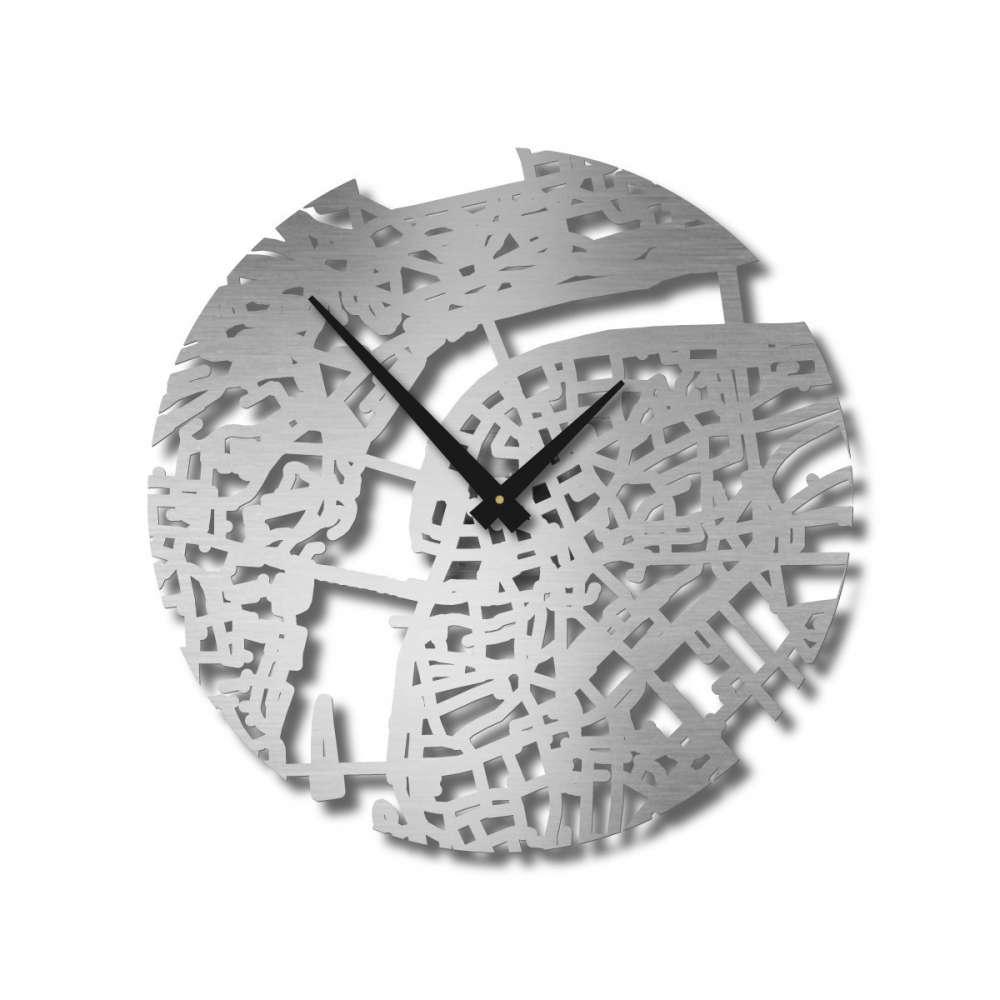 Prague Clock | Urban Story | Wall Timepieces | Map Clocks