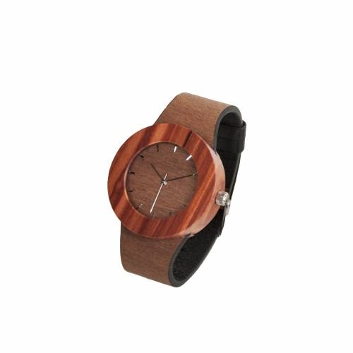 Makore & Red Sanders Watch - A Timepiece as Beautiful as it is Earth Friendly