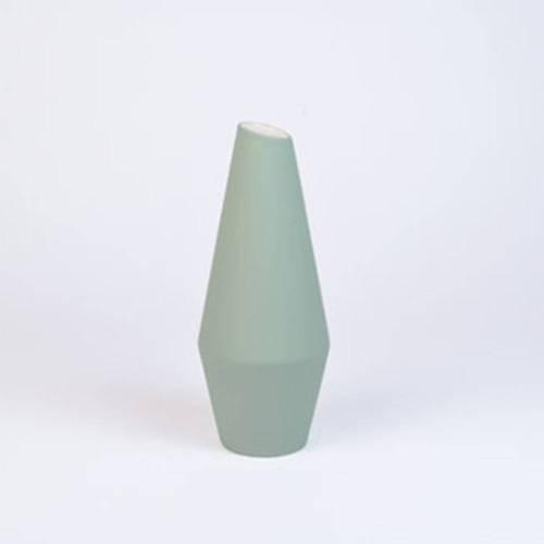 Crooked Vase, Soft Green
