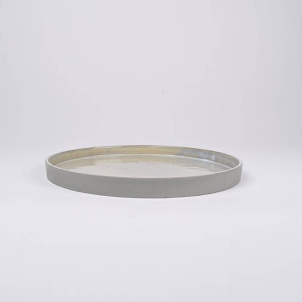 Slant Bowl, Grey - Classy Ceramic Bowl