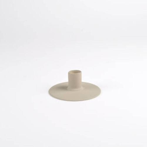 Zest Candle holder, Taupe