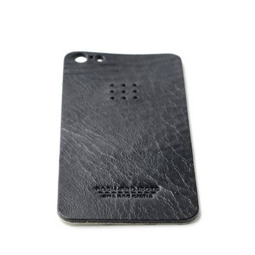 503 iPhone 5 Leather Skin, Black - Leather iPhone Skin