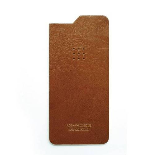 504 iPhone 6 Leather Skin, Brown - Leather iPhone Skin