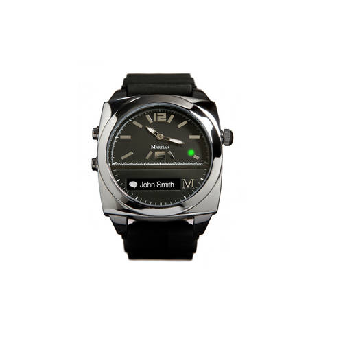 Victory Smartwatch in Black/Silver