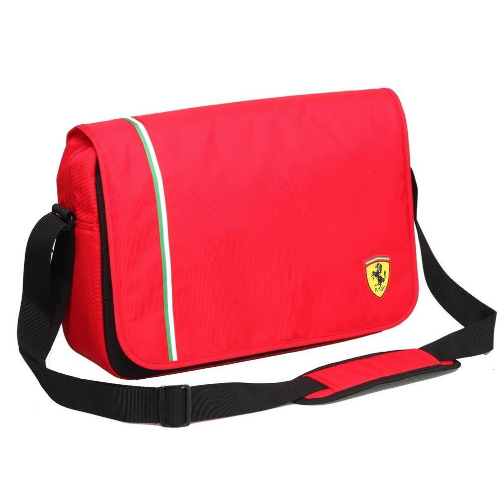 Red Active Messenger Bag - Ferrari