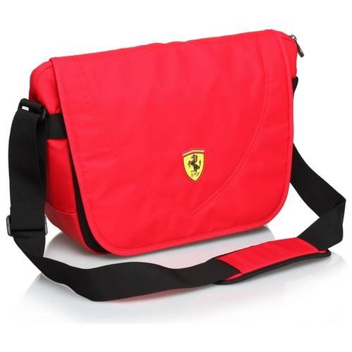 Travelers Messenger Bag, Red