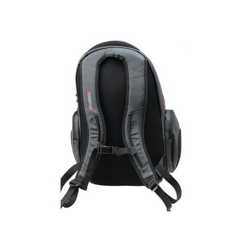 Black Laptop Backpack - Ferrari