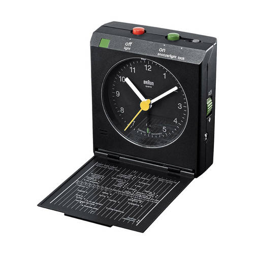 Reflex Control Travel Alarm Clock - A Multi-Purpose Clock