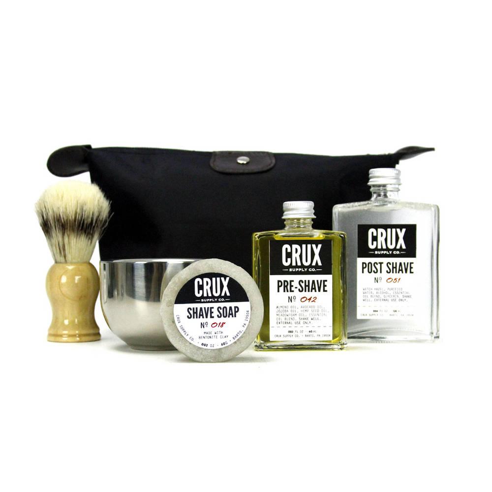 Deluxe Shaving Kit | Crux Grooming