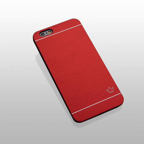 Slim Aluminum iPhone 6 Case, Red