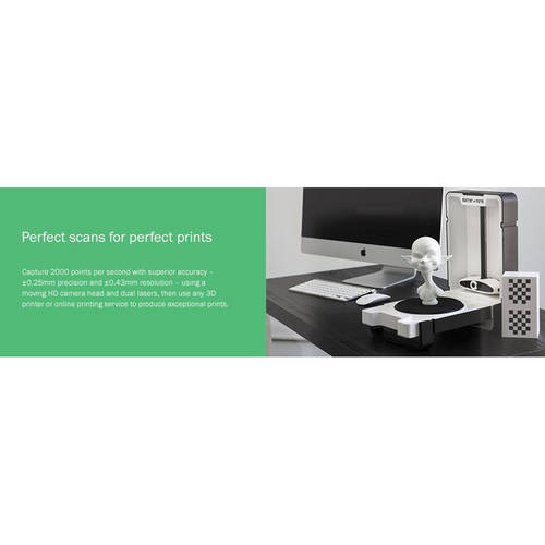 3D Scanner - The World's First Truly Affordable 3D Scanner