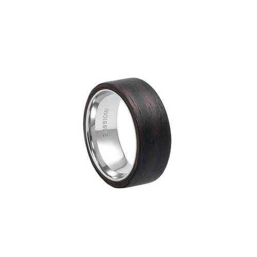 Mono Wide Ebony Ring