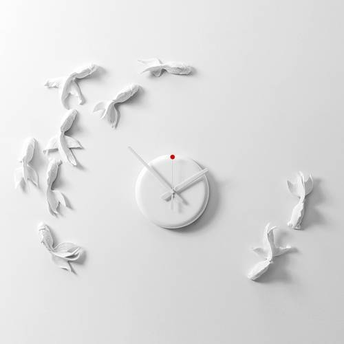 Goldfish X Clock - Haoshi Design