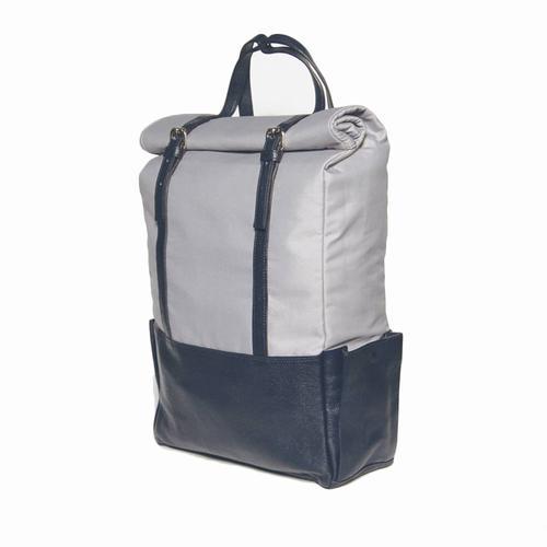 Voyager Backpack | Blue Leather
