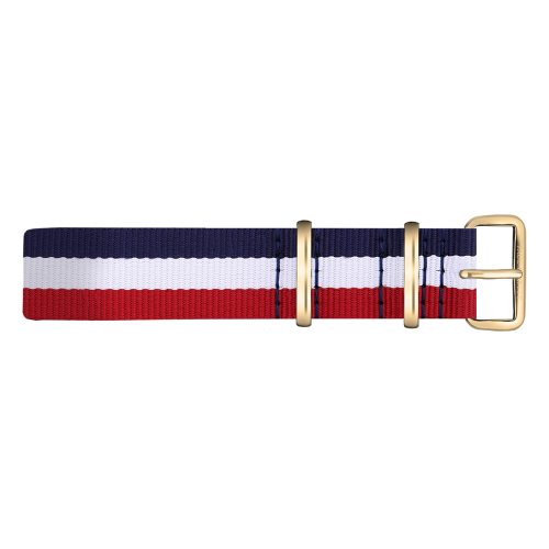Gold Line Watch, Navy/White/Red - Paul Hewitt