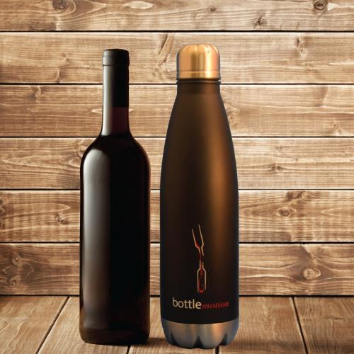 750ml Decanter   Black Wine Decanter   Bottle Motion