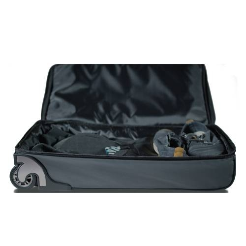 Roller Duffle Bag with Collapsible Shelves - BLUE
