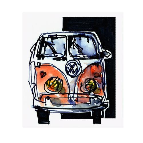 Print | Volkswagen Bus / Campervan