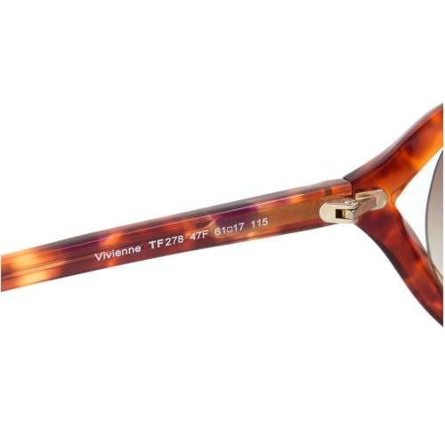 Tom Ford FT0278 47F Vivienne Rectangular Womens Sunglasses