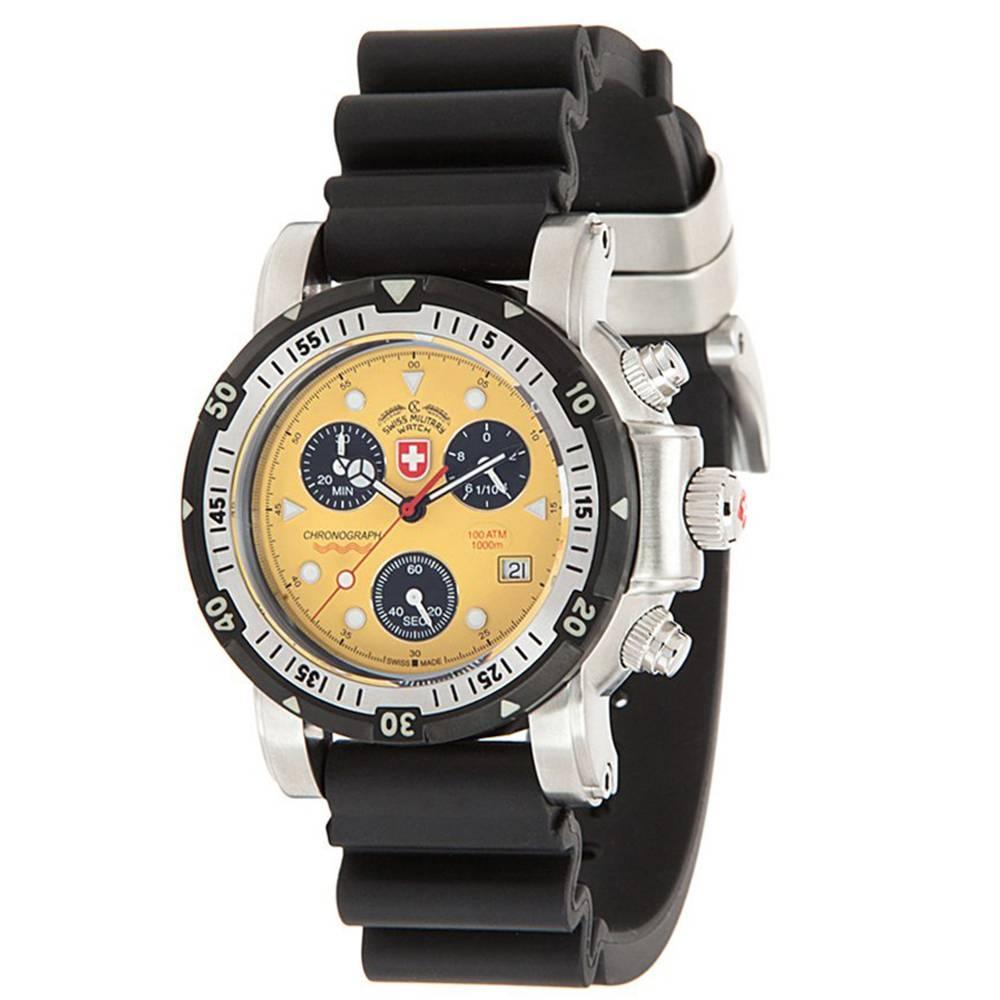 Swiss Military Watches - SEEWOLF I SCUBA, Yellow