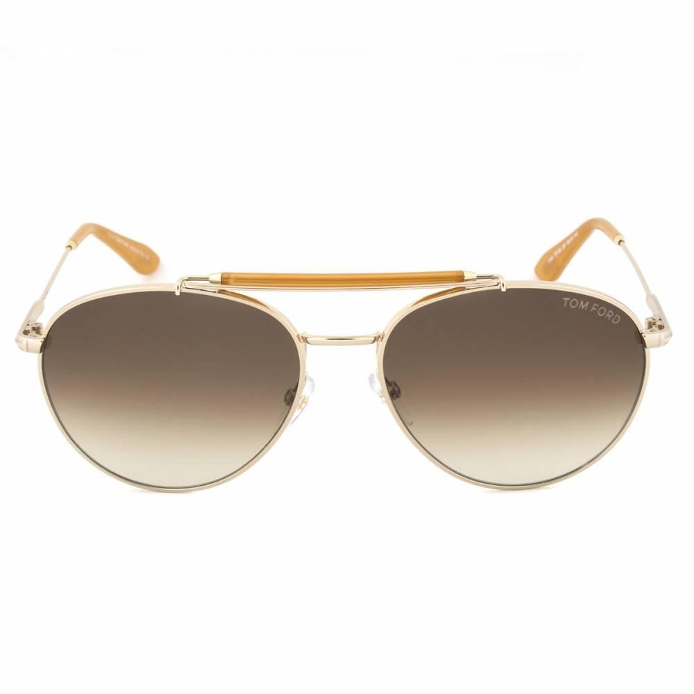 Tom Ford TF338 28F Colin Gold Aviator Sunglasses